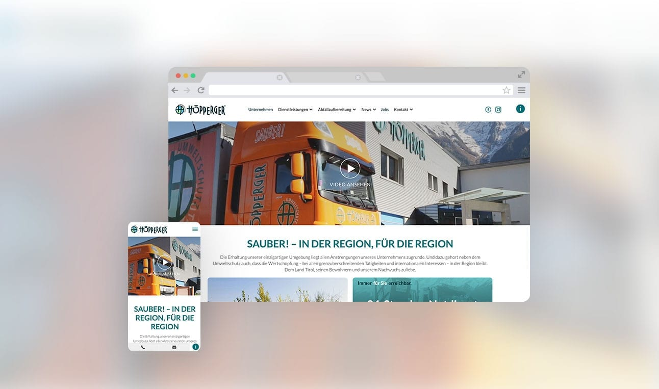 2c09261c0e6345 Neue Website für Höpperger Umweltschutz – Höpperger Umweltschutz