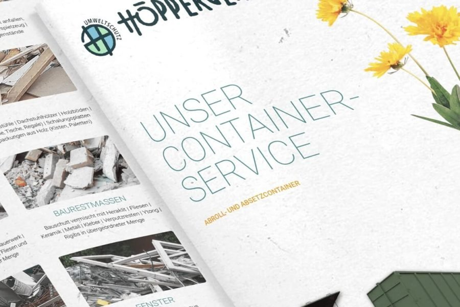 Die neue Containerservice Broschüre ist da!