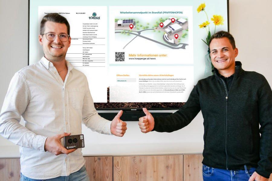 Step by step Richtung Digitalisierung und E-Mobilität
